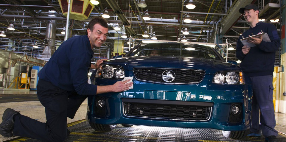 Auto industry can survive: Holden MD