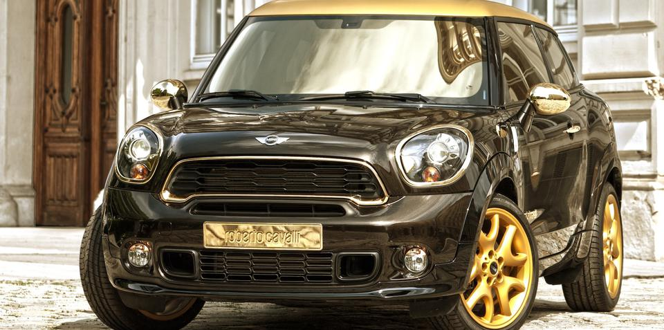 Mini Paceman by Roberto Cavalli auctioned for Life Ball charity