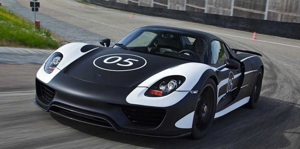 Porsche 918 doesn't need more power to rival LaFerrari, P1: report