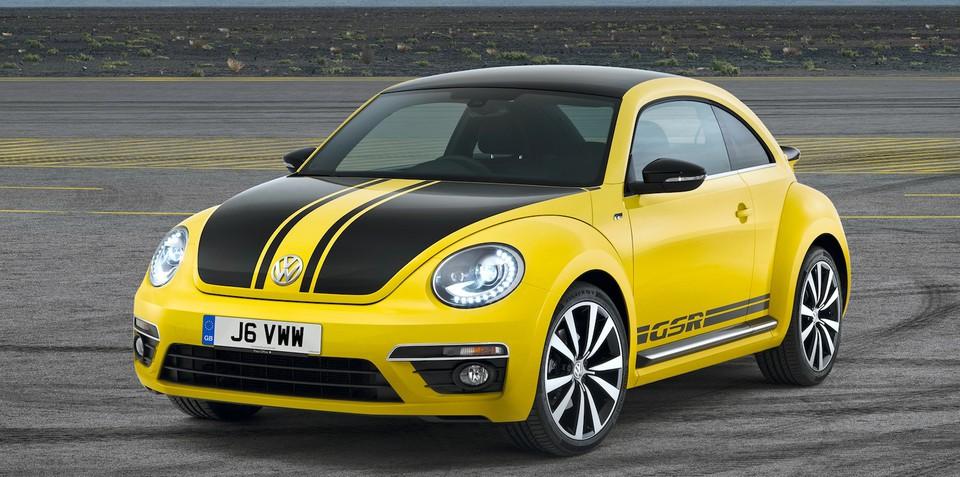 Volkswagen Beetle GSR: rare bug returns