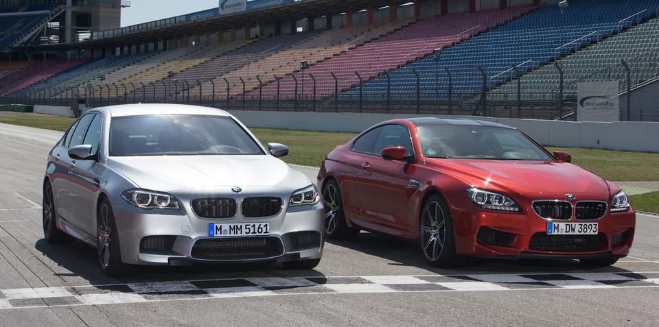 BMW M5, M6: Competition Package boosts power to 423kW