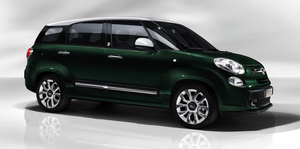 Fiat 500L Living: seven-seat 'Magic Purpose Wagon' revealed