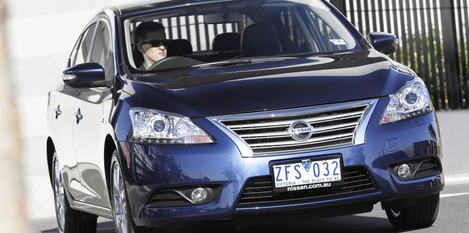 Nissan Pulsar SSS sedan on the radar