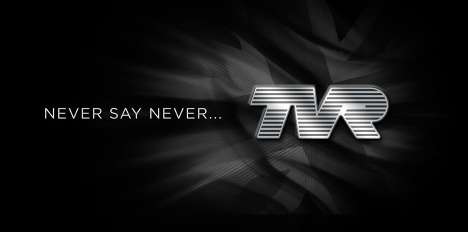 TVR website hints at revival with 'Never say never' homepage