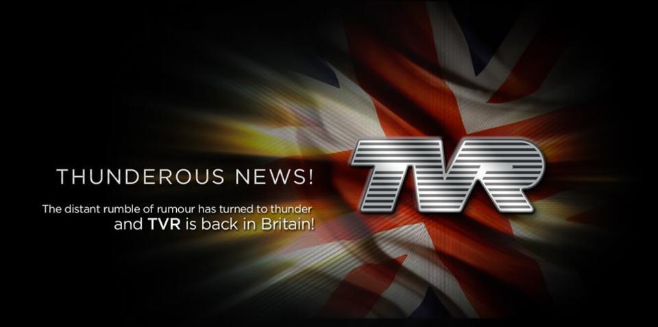 TVR confirms revival plans