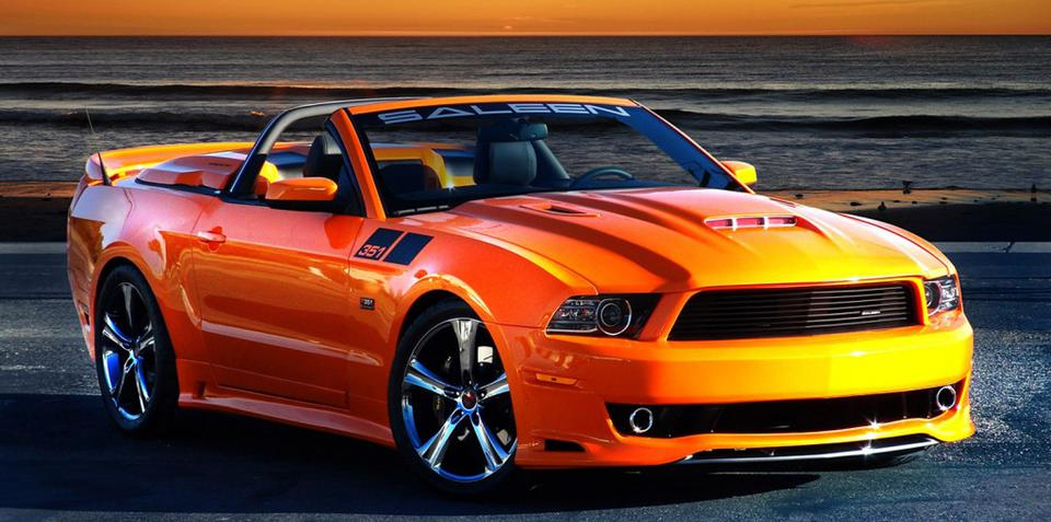 Saleen 351 Mustang: 522kW pony car revealed