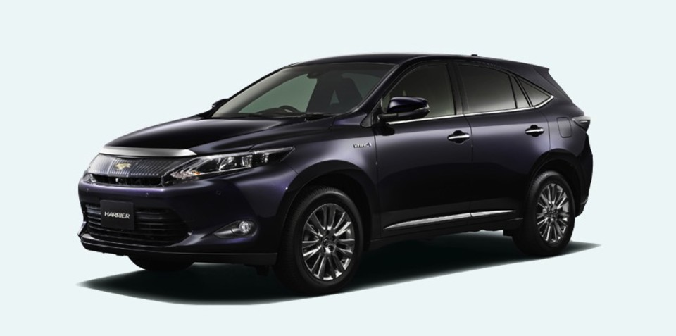 Toyota Harrier: Japan-only SUV hints at future Lexus RX