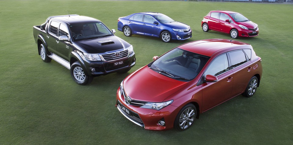 Toyota leading annual global sales race, set to pass 10m vehicles in 2013