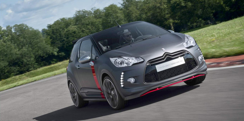 Citroen DS3 Cabrio Racing: production specifications revealed
