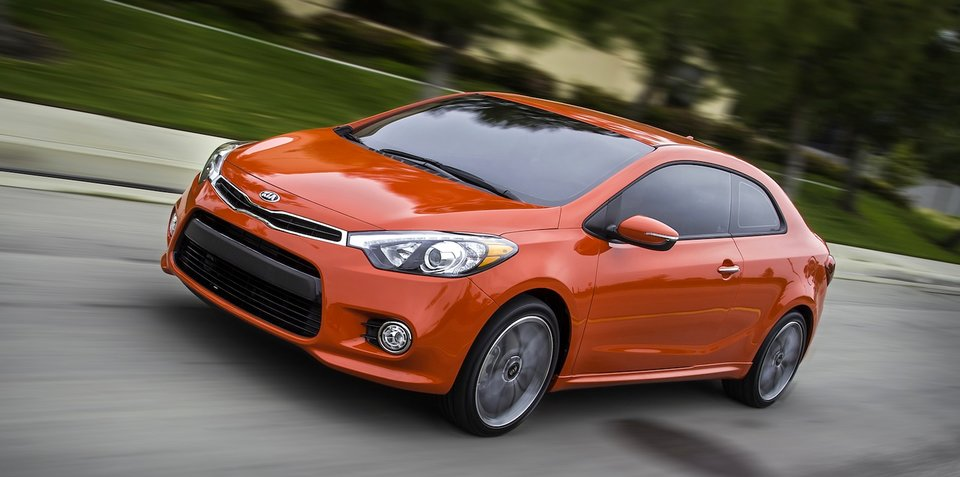 Kia Cerato Koup Turbo coming in October