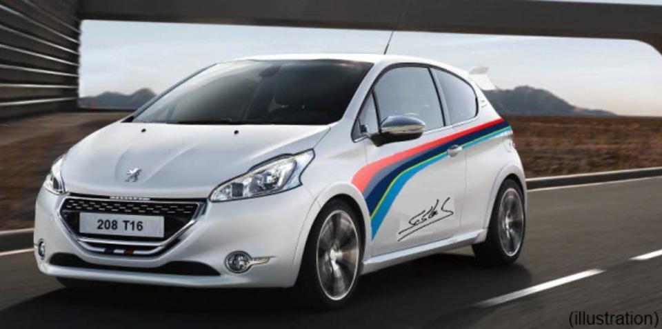 Peugeot 208 GTi Pikes Peak Edition rumoured