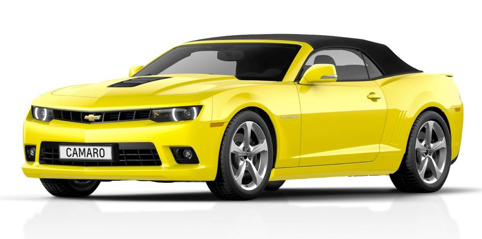 2014 Chevrolet Camaro Convertible: 318kW muscle car facelift shown