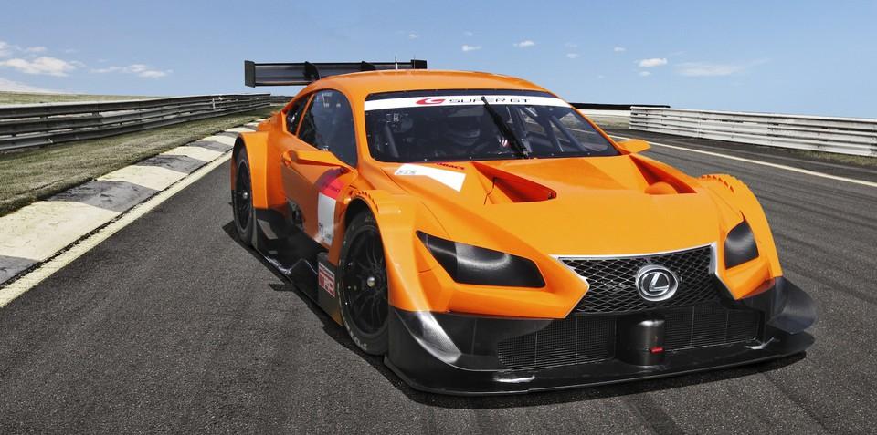 Lexus LF-CC-based Super GT racer revealed