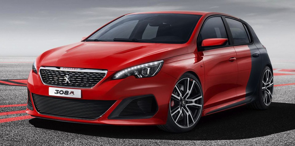 Peugeot 308 R concept: 200kW French hot-hatch revealed