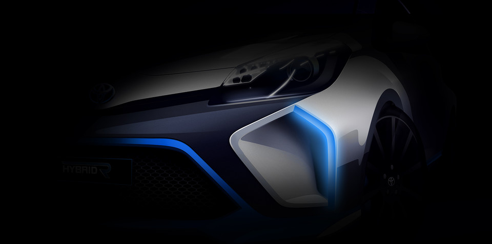 Toyota Hybrid R concept teaser reveals high-performance Yaris