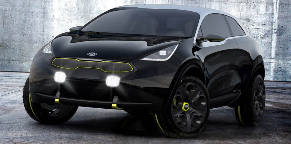 Kia Niro: city SUV concept revealed