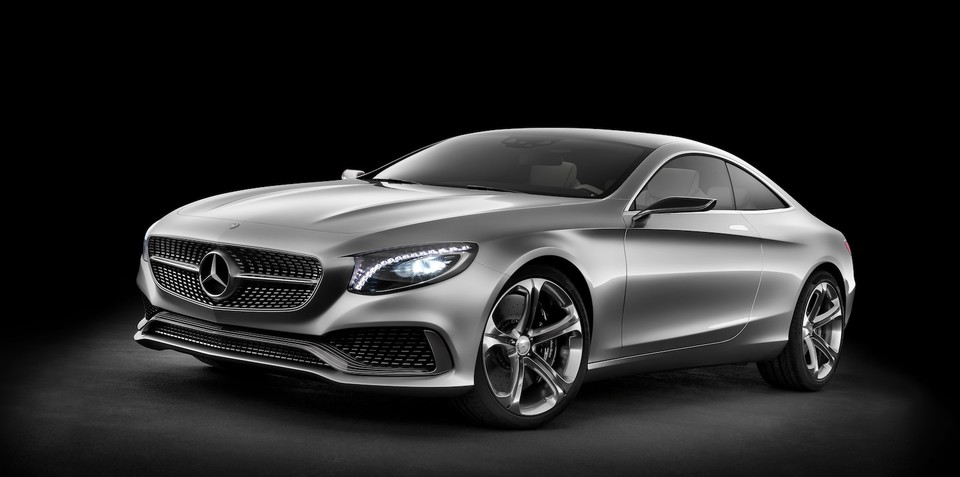 Mercedes-Benz S-Class Coupe: 335kW bi-turbo concept revealed