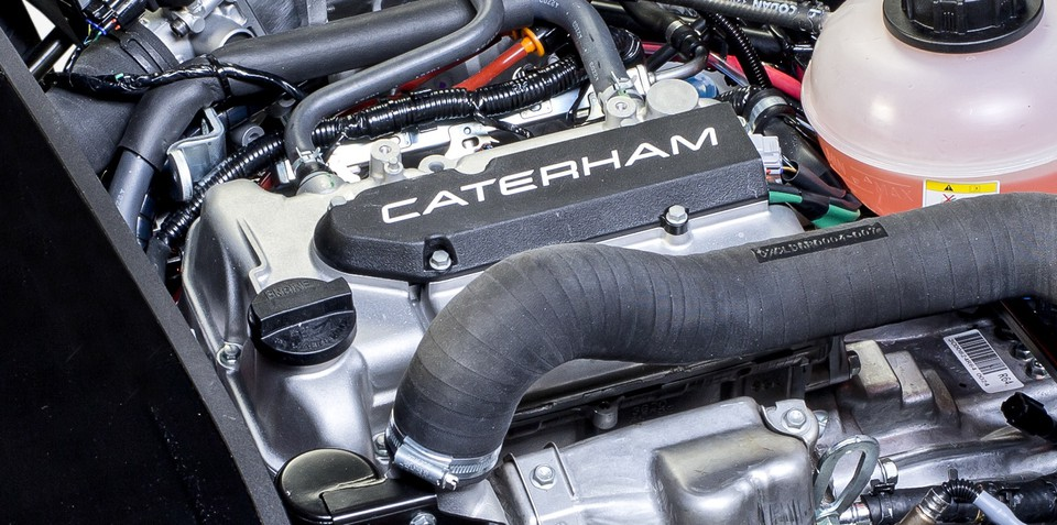Caterham Seven 165: 59kW, 107Nm for entry-level sports car