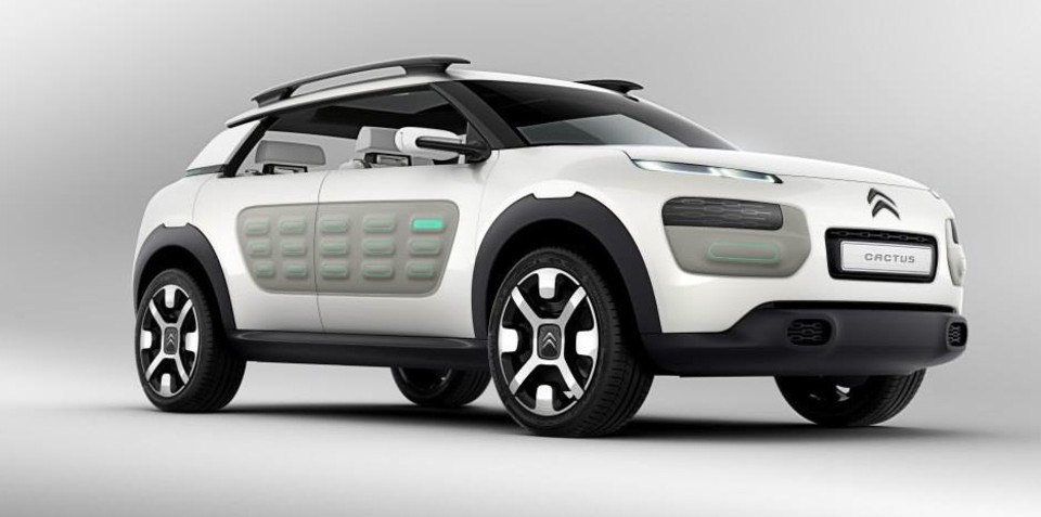 Citroen Cactus: air-propelled production car spied