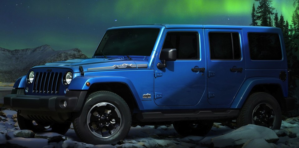 Jeep Wrangler Polar: special edition off-roader unveiled