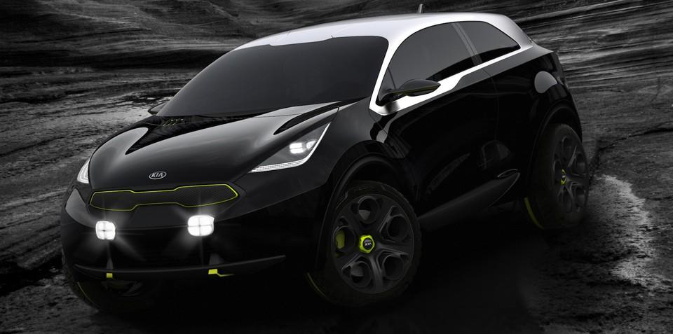 Kia Niro concept: all-paw hybrid unveiled