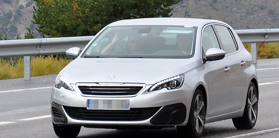 Peugeot 308 GTi hot-hatch spotted