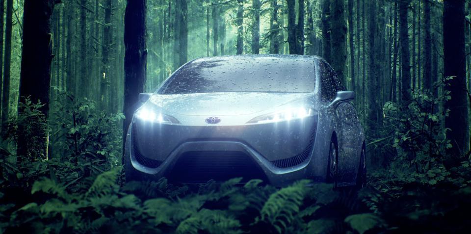 Toyota FCV-R concept: 'ultimate hybrid car' teased