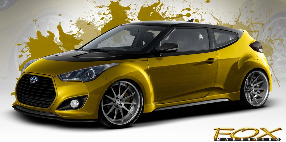 Hyundai Veloster Turbo: 270kW SEMA concept revealed