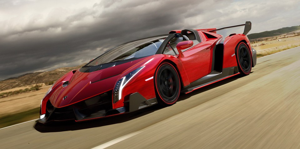 Lamborghini Veneno Roadster: $6.5m supercar revealed