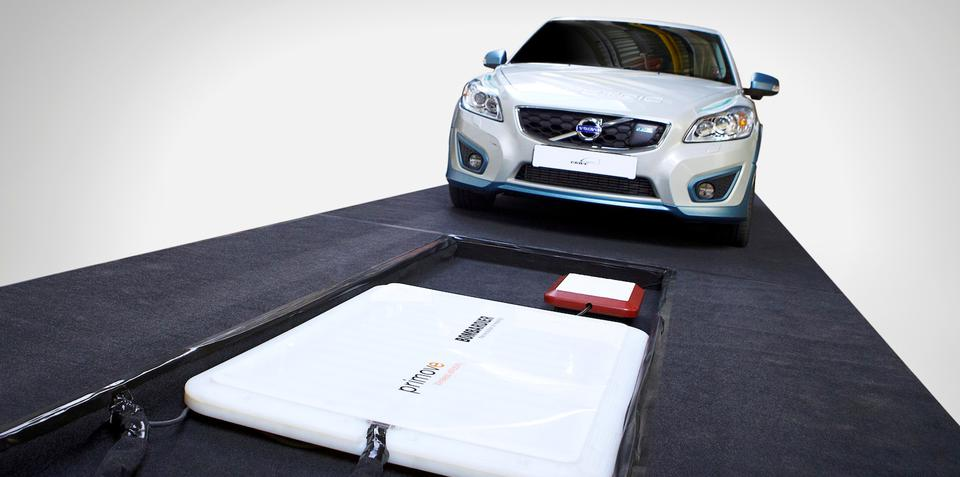 "Volvo wireless EV charging study shows ""great potential"""