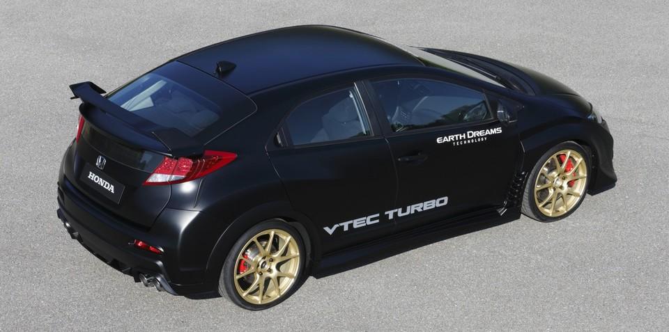 Honda Civic Type R heading to Australia in 2015