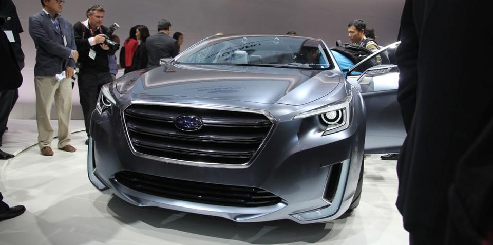 2014 Subaru Liberty won't mirror Legacy concept in design or size