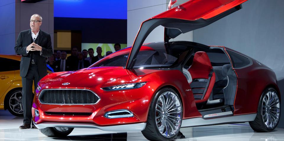 Ford designer J Mays retires, succeeded by Moray Callum
