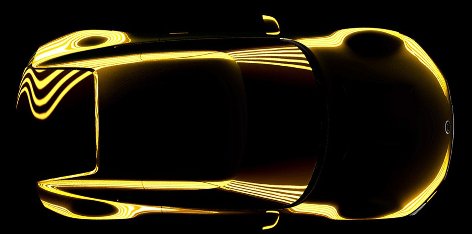 Kia teases 2+2 sports car concept