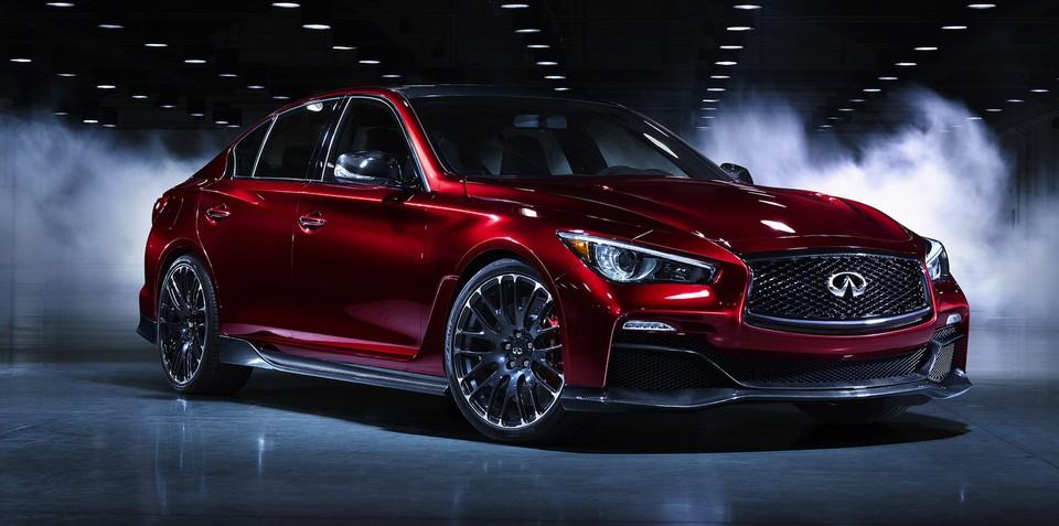 Infiniti Q50 Eau Rouge concept teases potential 372kW/812Nm sports sedan