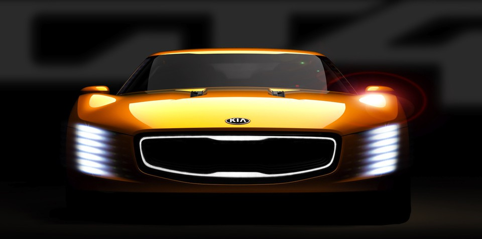 Kia GT4 Stinger: 235kW turbocharged rear-drive concept teased