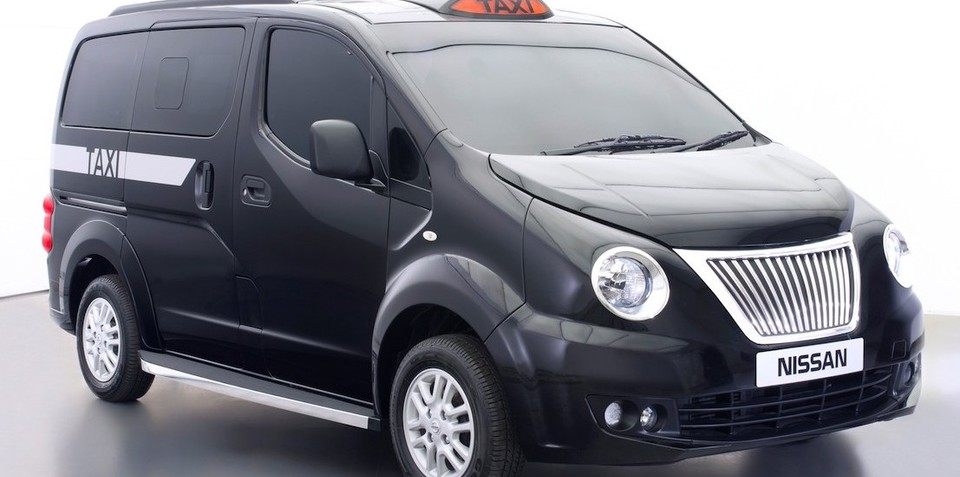 Nissan NV200 Taxi for London gets black cab makeover