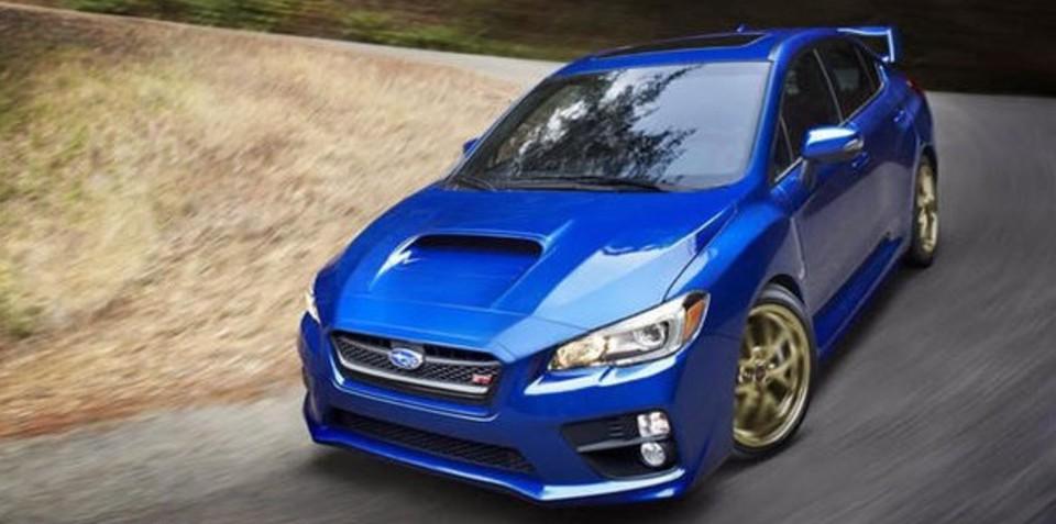 Subaru WRX STI revealed in leaked images
