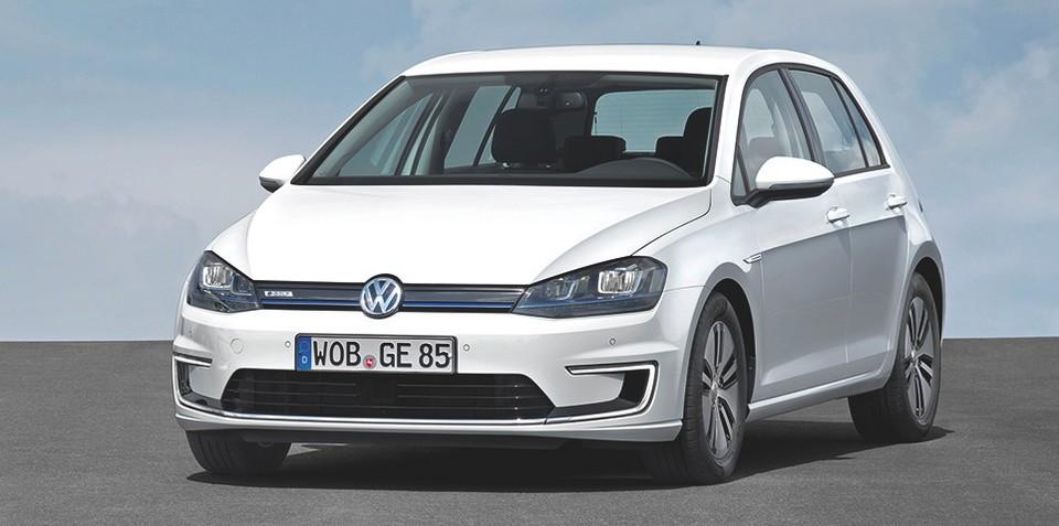 """Volkswagen : """"We need electric cars"""""""
