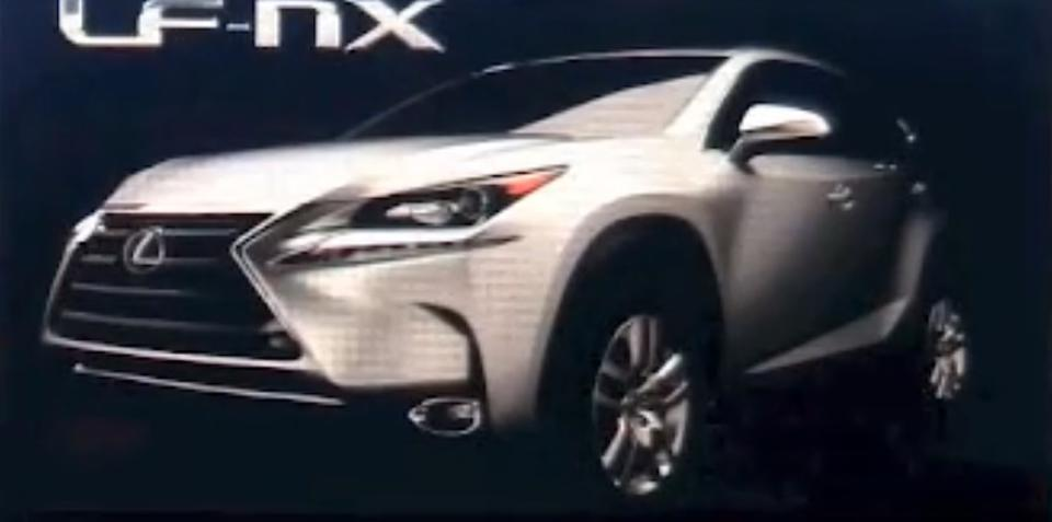 Lexus NX : production SUV previewed in presentation