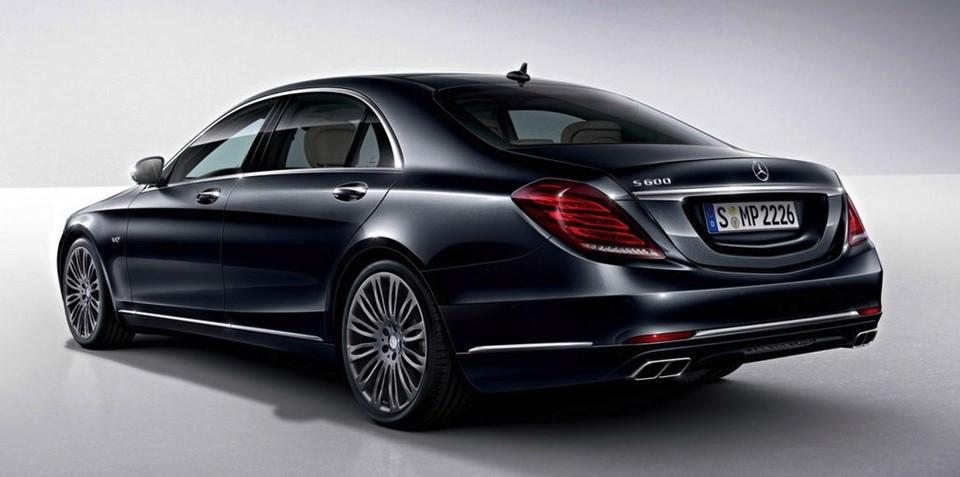Mercedes-Benz S600 : 390kW V12 limousine leaked