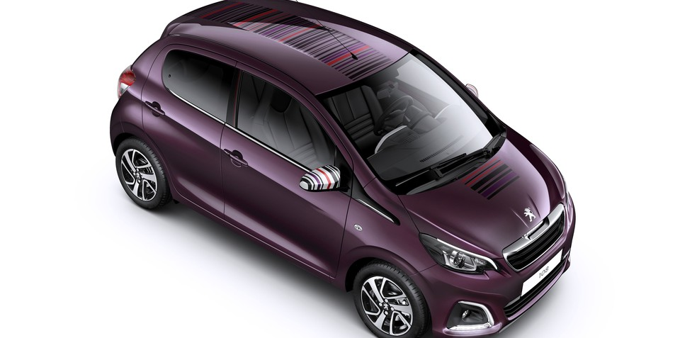 Peugeot 108 : petite city car revealed