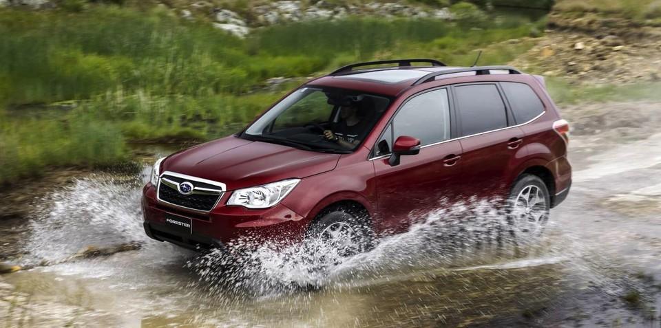 Subaru Forester gets $1000 price cut