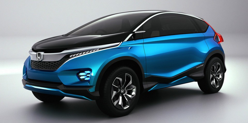 Honda Vision XS-1 concept : sporty seven-seat SUV revealed