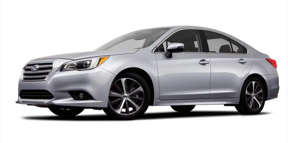 2015 Subaru Liberty : leaked images reveal new-generation mid-size sedan