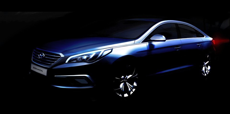 2014 Hyundai Sonata : first look at new-gen medium sedan