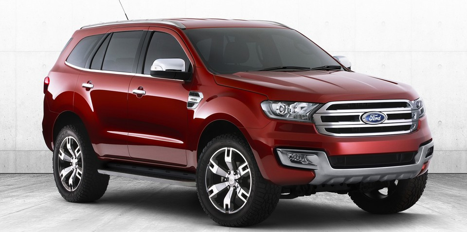Ford Everest SUV confirmed for production; destined for Australia in 2015