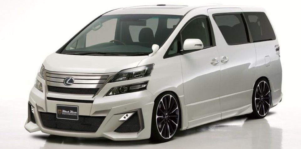 Lexus van reportedly in high demand