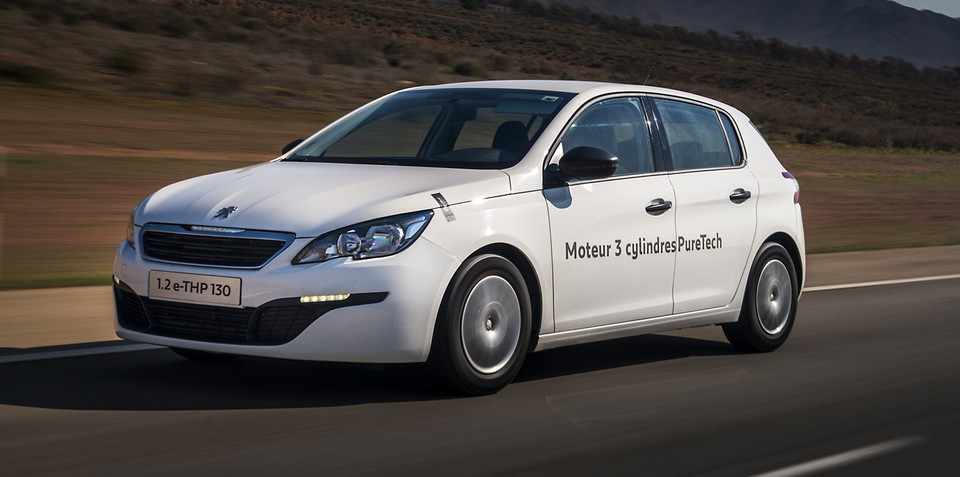 Peugeot 308 claims fuel economy record with new three-cylinder petrol engine