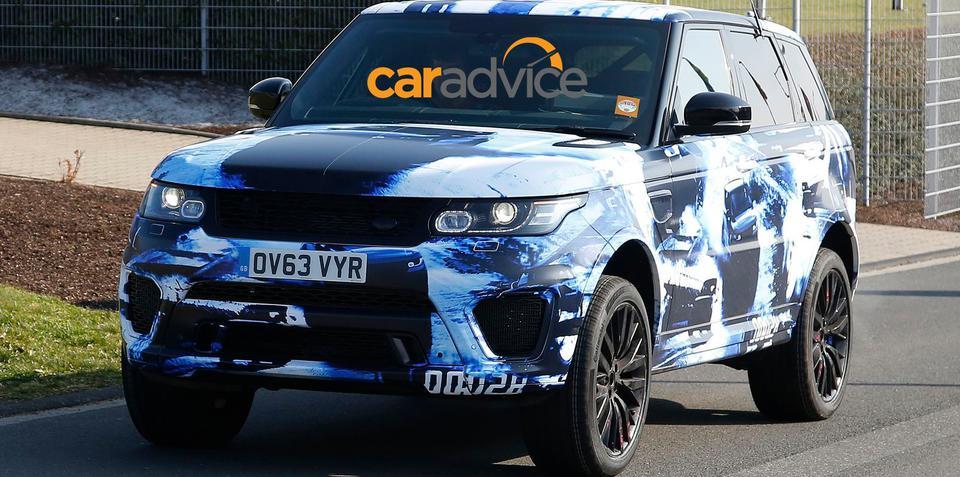 Range Rover Sport R-S performance SUV spied